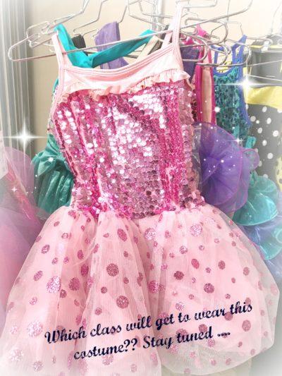 sparkly pink tutu