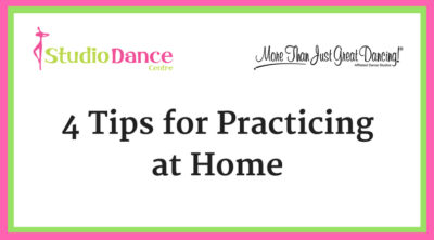 4 tips for practicing at home