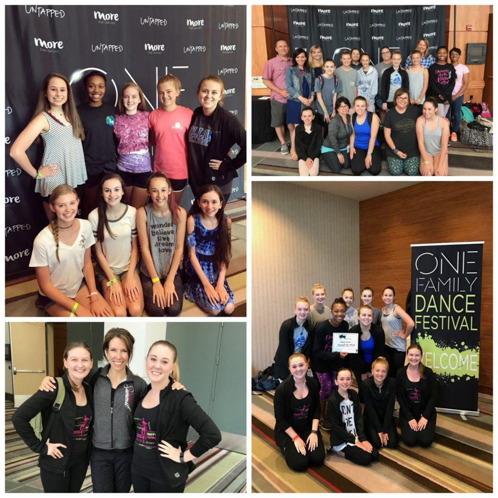 Dance Festival Picture Collage