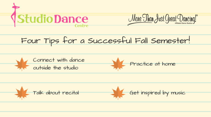 Four Tips for a Successful Fall Semester