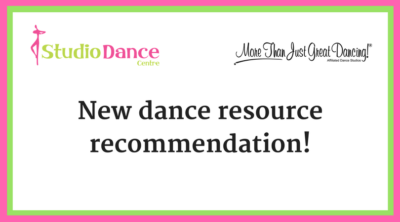 new dance resource recommendation