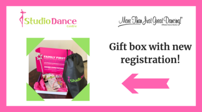 free gift box pictured